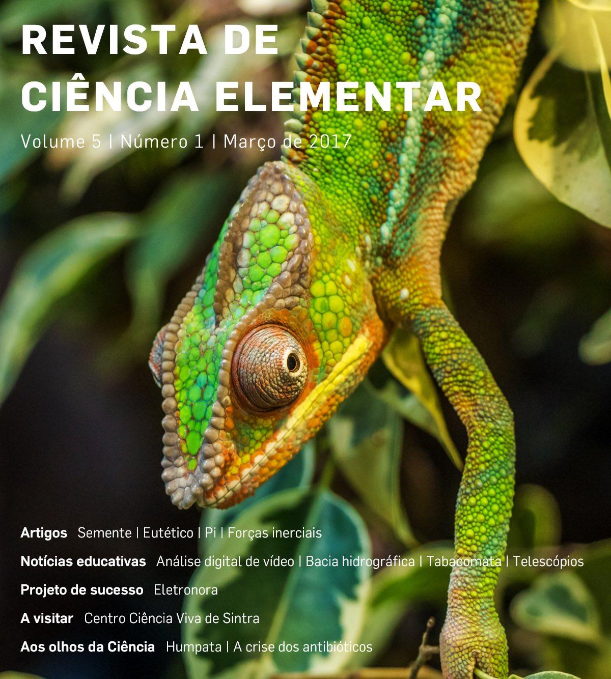 Revista de Ciência Elementar. Novo número já disponível.